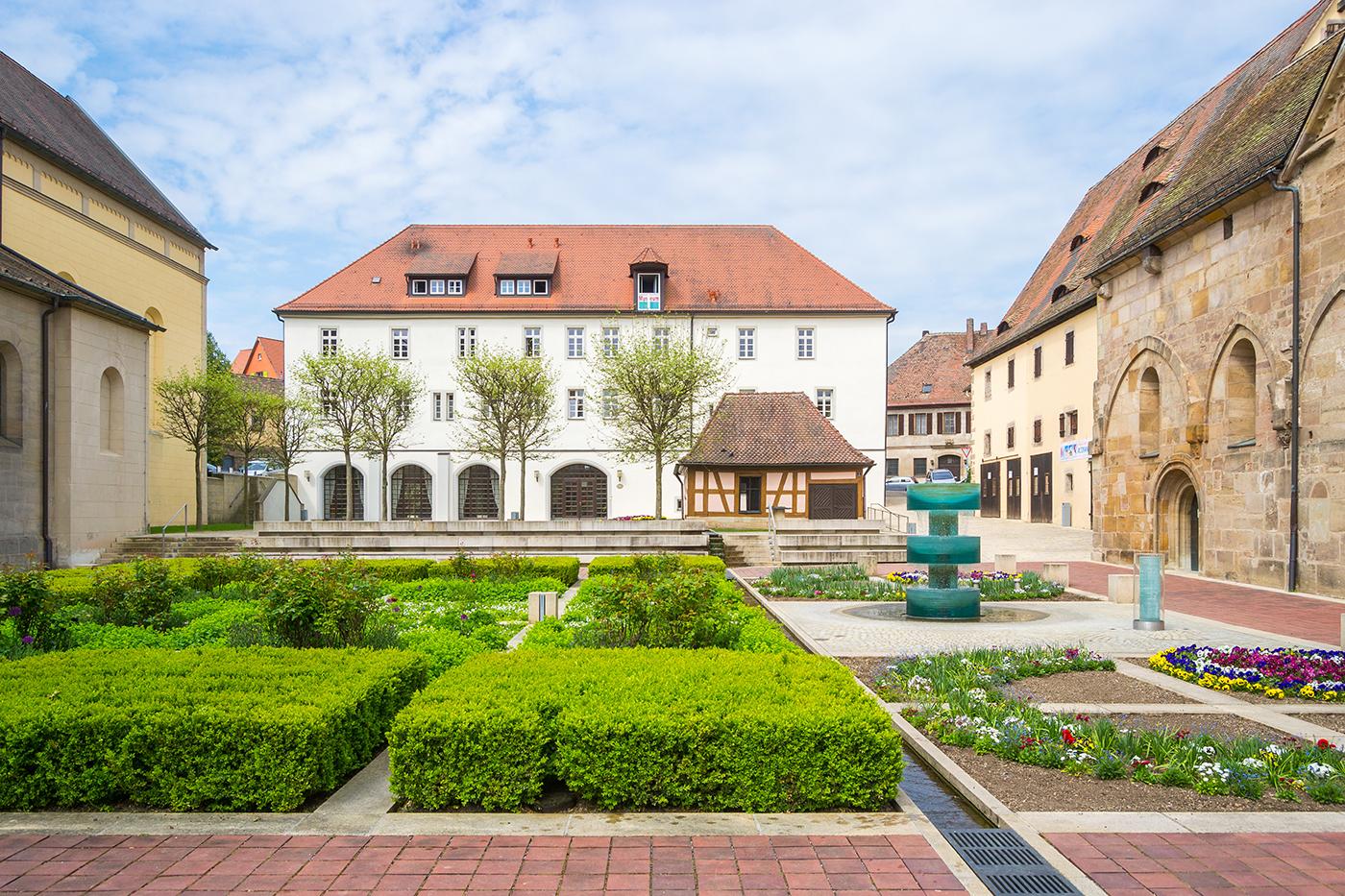 Kloster in Heilsbronn im Frankenland