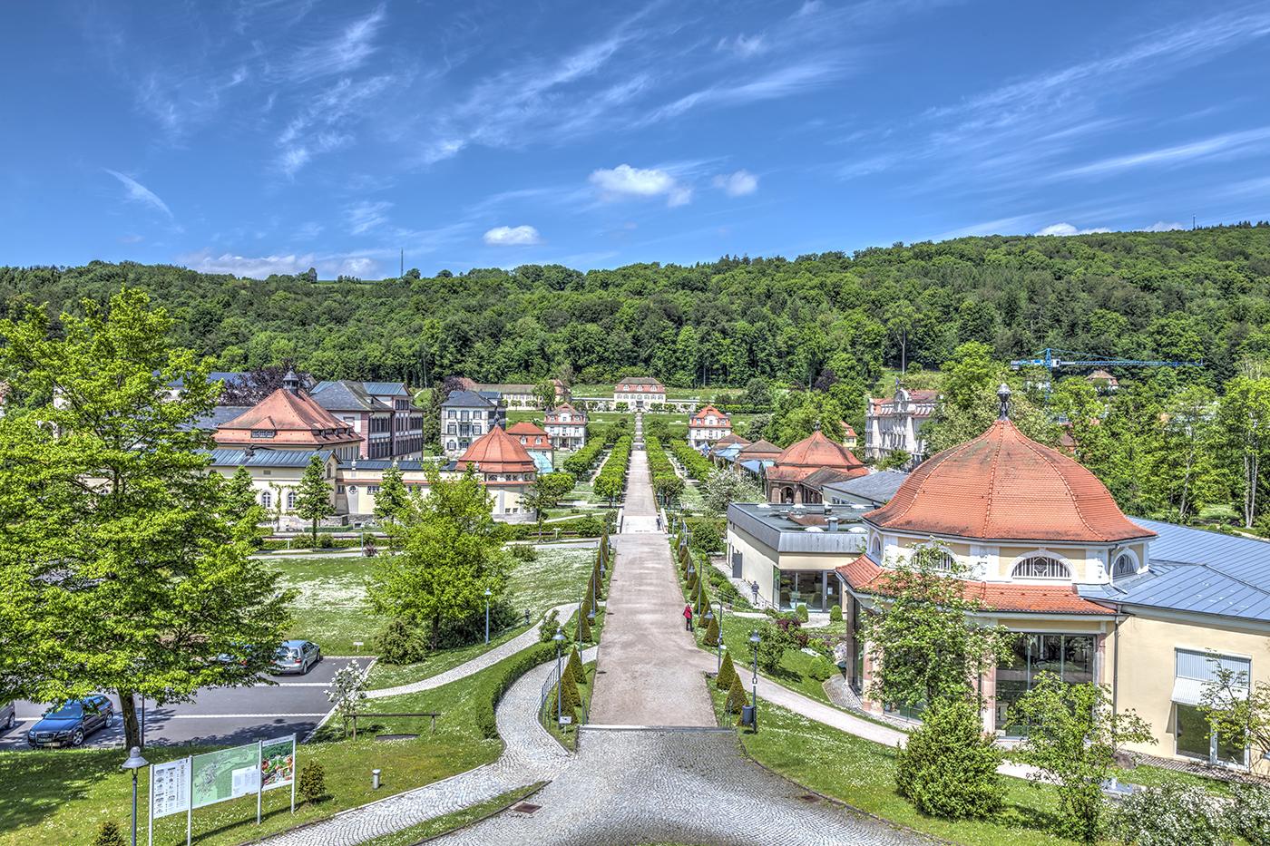 Bad Brückenau im Frankenland