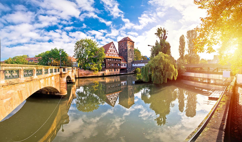 Wunderschöne Stadt Nürnberg